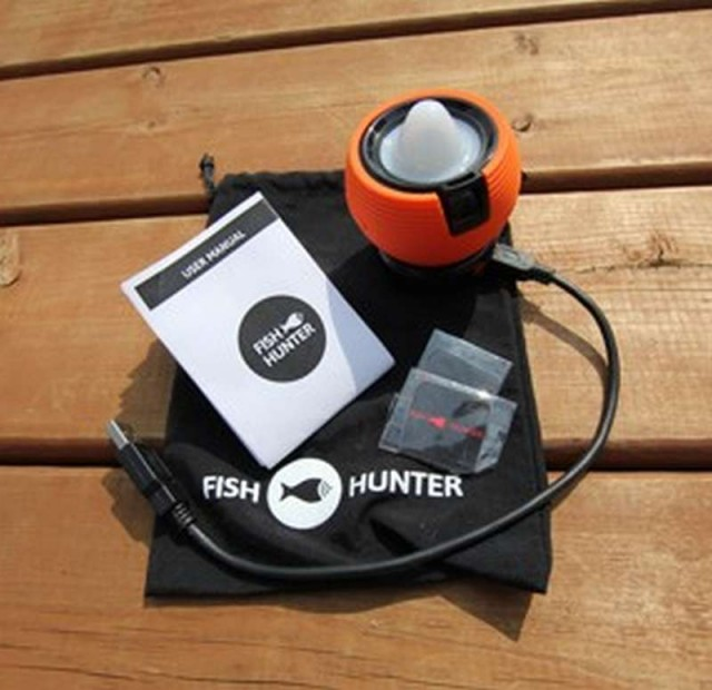 FishHunter Sonar works with your smartphone 2