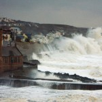 Gigantic Waves beat the coasts of Britain