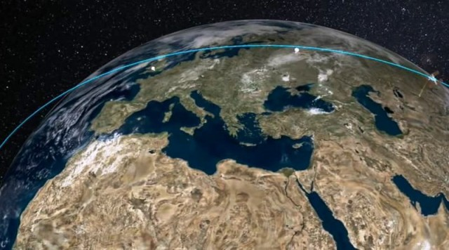 High quality Earth views in near real time from ISS 1