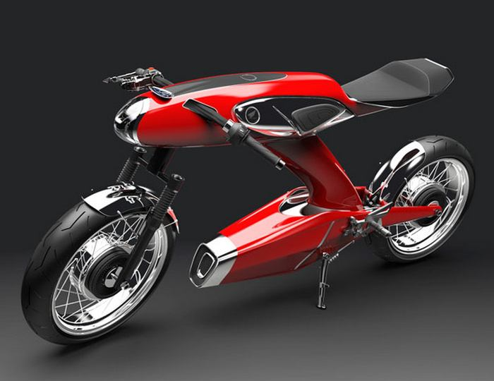 wordlesstech honda super 90 concept motorcycle