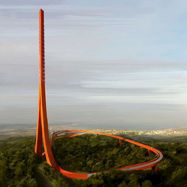 IND and Powerhouse Company Ribbon Tower in Turkey 1
