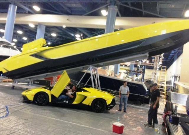 Lamborghini Aventador 3000hp Power boat  1