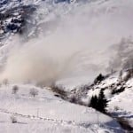 Look what a small avalanche can do