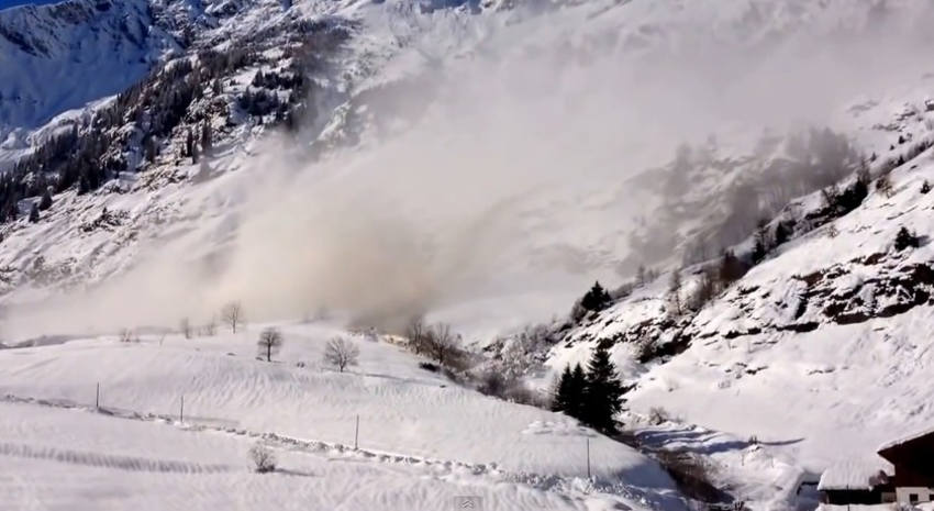 South Tyrol avalanche