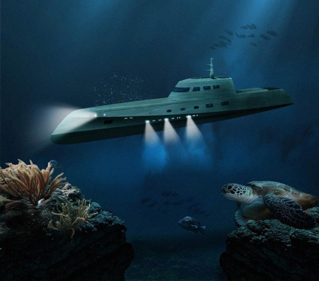 Luxury underwater cruises by Oliver's travels 1