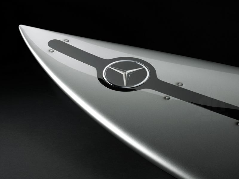 Mercedes Benz Develops a Surfboard (5)