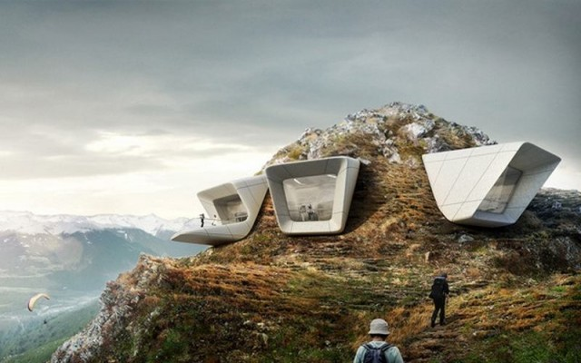 Messner Mountain Museum by Zaha Hadid 1