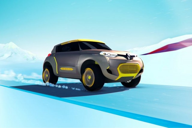 Renault KWID with a quadcopter (12)