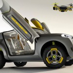 Renault KWID carries a quadcopter