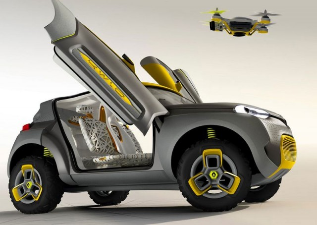 Renault KWID carries a quadcopter 5