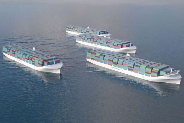 Rolls-Royce Drone Cargo Ships under development 1