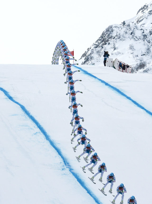 Sochi Winter Olympics composite images (2)