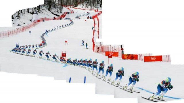 Sochi Winter Olympics composite images 4