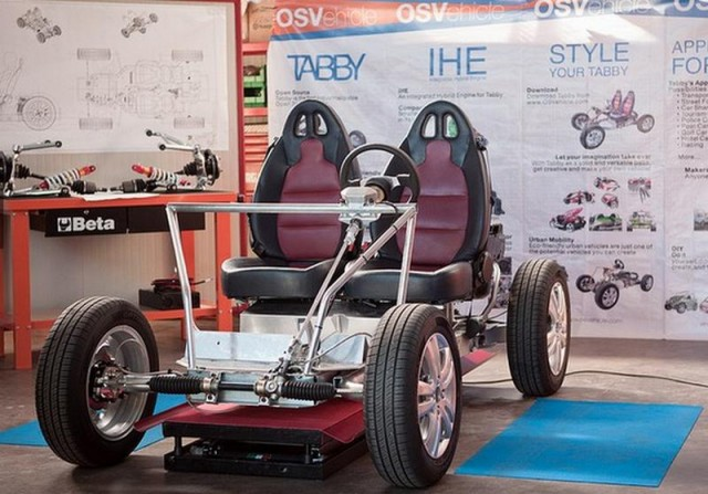 Tabby the first open-source vehicle 3