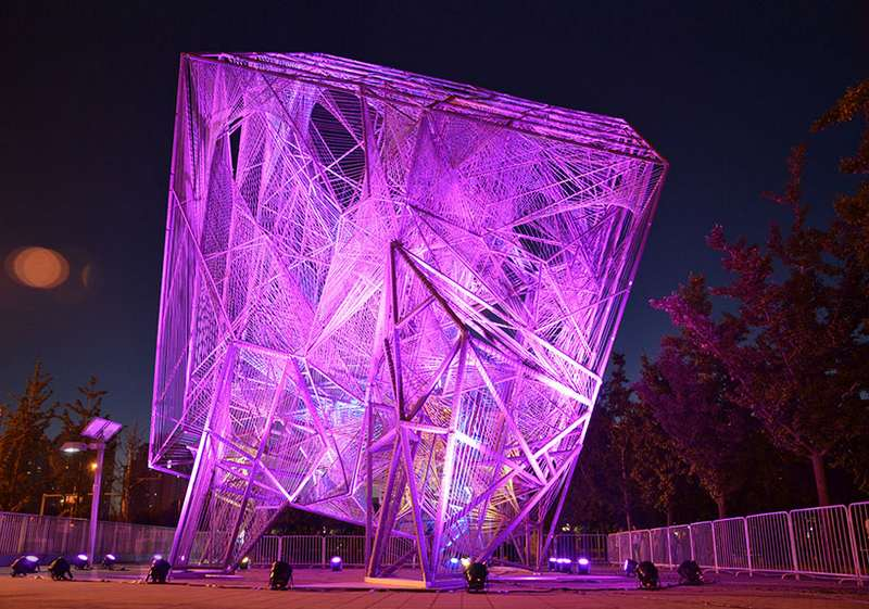 The Steel Cube by Oyler Wu Collaborative winner of Beijing Biennale (7)