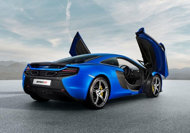The all-new McLaren 650S 1