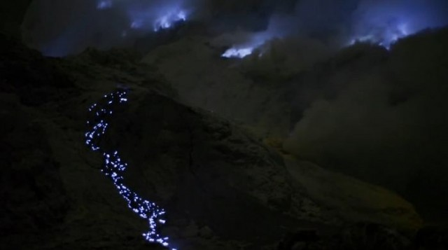 The mysterious blue lava 2