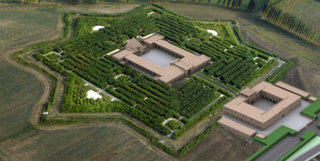 The world's labyrinth by Franco Maria Ricci  1