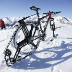 Turn your Bicycle into a Snowmobile