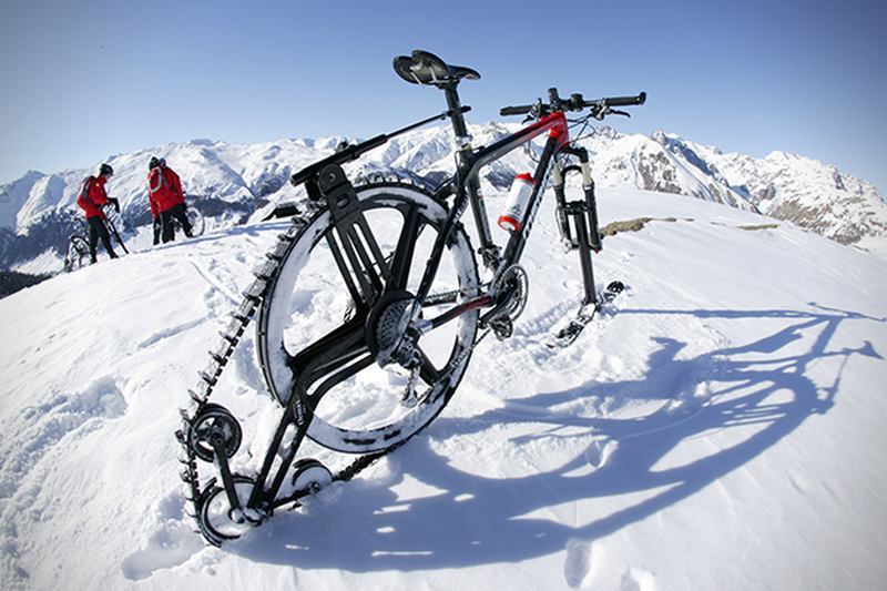 pedal-powered snowmobile (4)