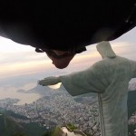 Wingsuit Flyby past Rio's Iconic Christ