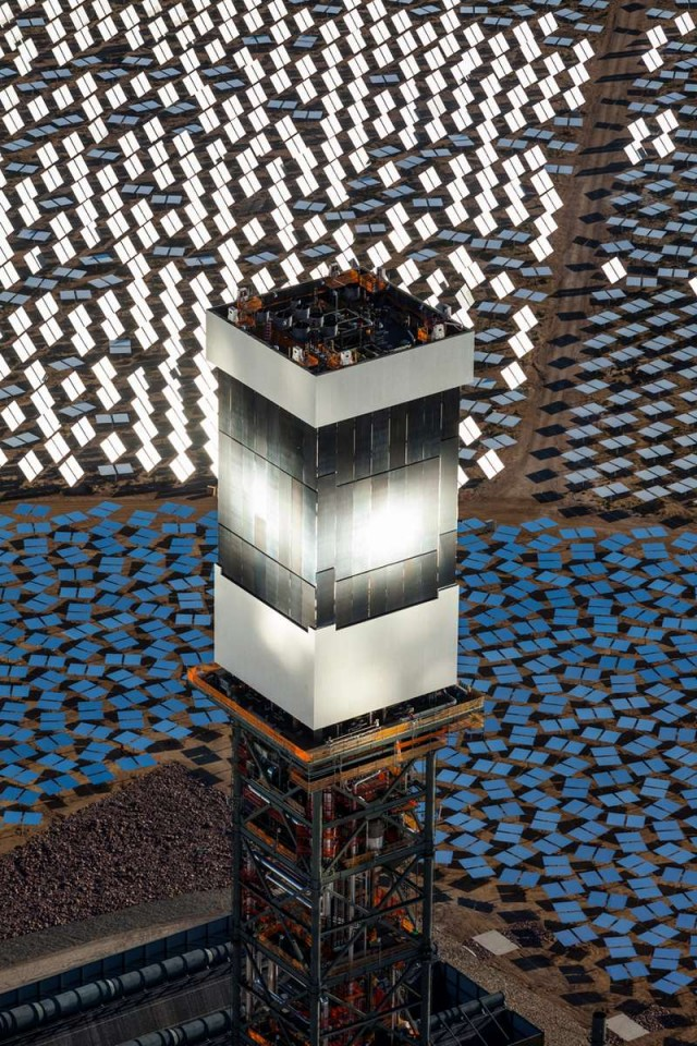 World's Largest Solar Thermal Plant is Online 3