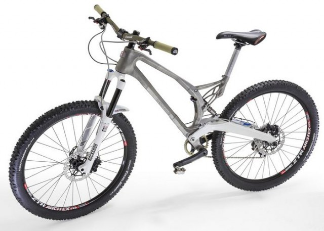 World's first 3D-printed titanium bicycle 1