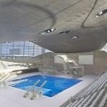 Zaha Hadid's London Aquatics Center opens to the public