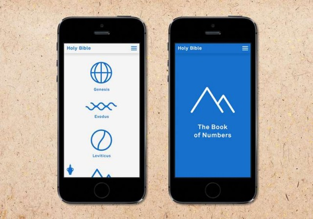 iPhone App Redesigns the Holy Bible 3