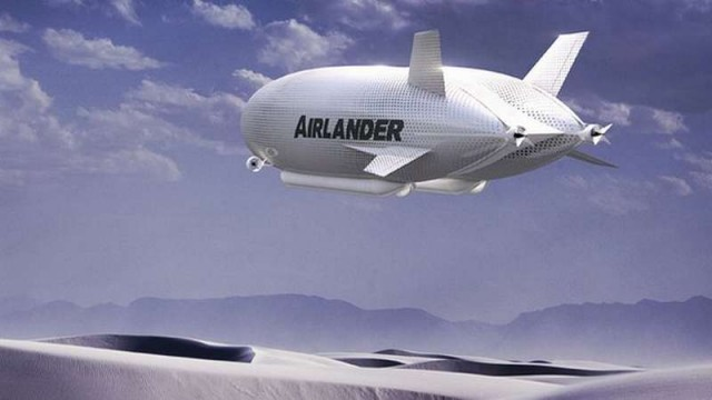 Airlander world's longest aircraft is unveiled (1)