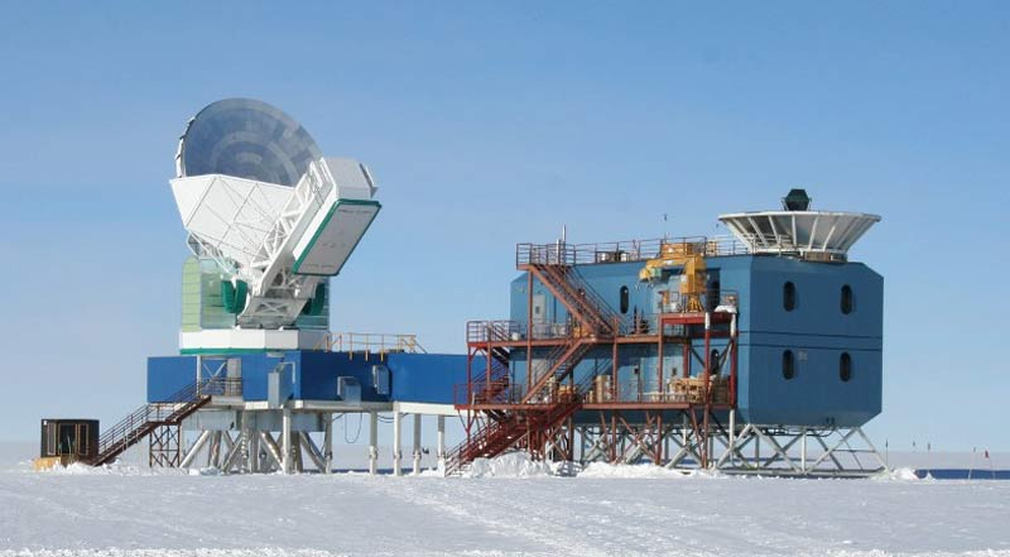 The BICEP2 facility at the South Pole