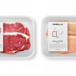 Clever meat labels for a butcher shop