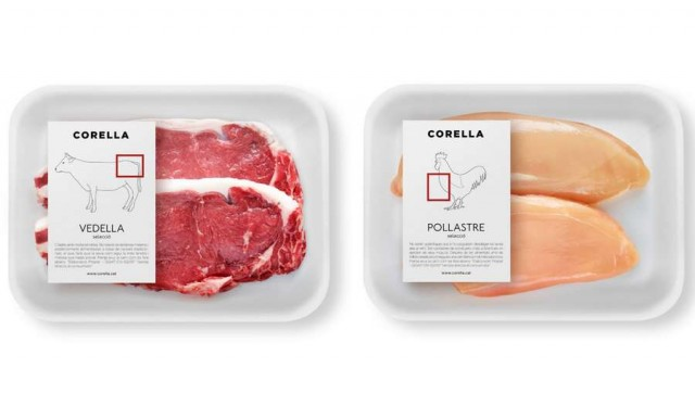 Clever meat labels