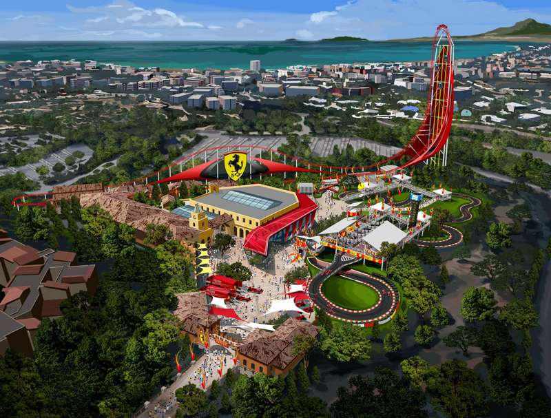 Ferrari Land Theme Park in PortAventura 1