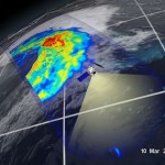 First Images from NASA-JAXA Global Rain and Snowfall Sa...