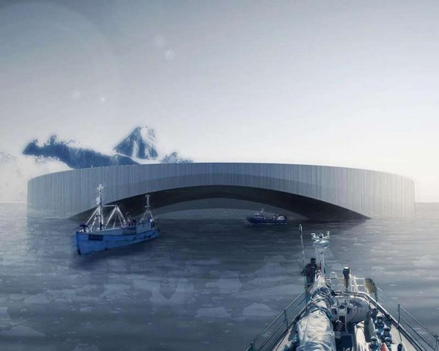 Floating Arctic City