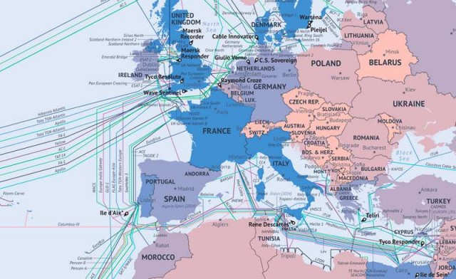 Global Submarine Cable Map 3