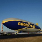 Goodyear launches giant new blimp
