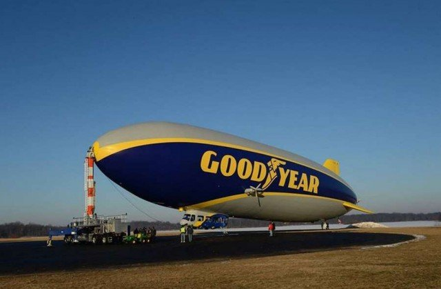 Goodyear new blimp 1