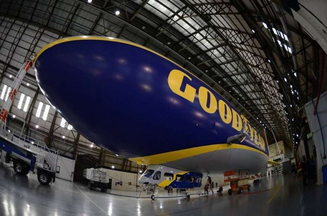 Goodyear new blimp