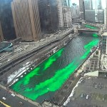 Greening of the Chicago River 2014