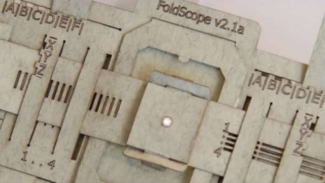 How to make a Paper Microscope 1
