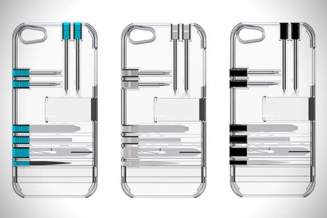 In1 iPhone case with built-in Multitools (4)
