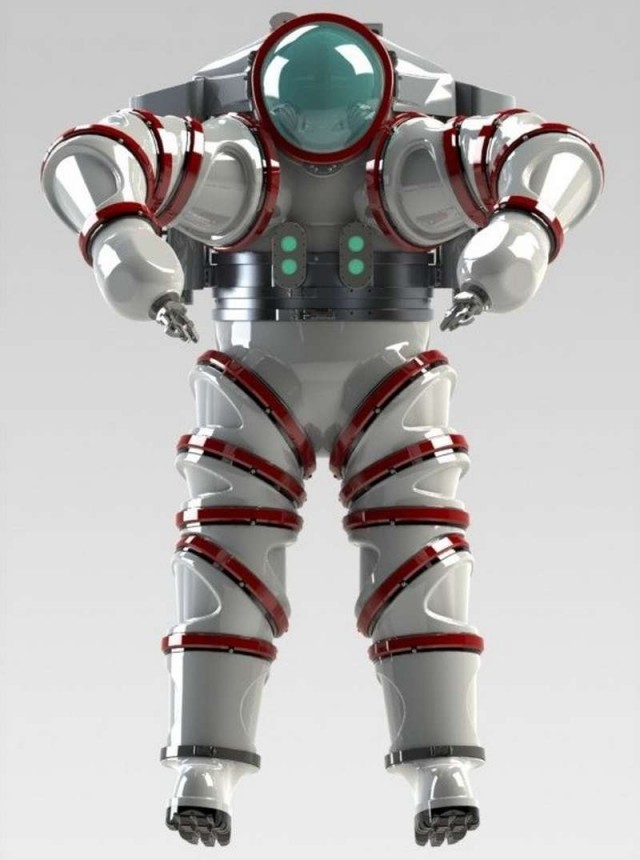 Iron Man Exosuit underwater suit (3)