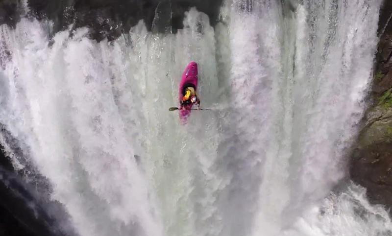 Kayak Waterfall Drop