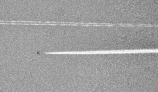 Mysterious object over Texas
