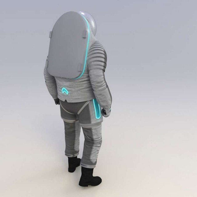 """The """"Technology"""" spacesuit"""