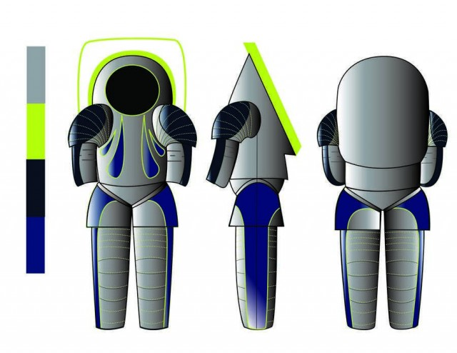 """""""Trends in Society"""" spacesuit"""