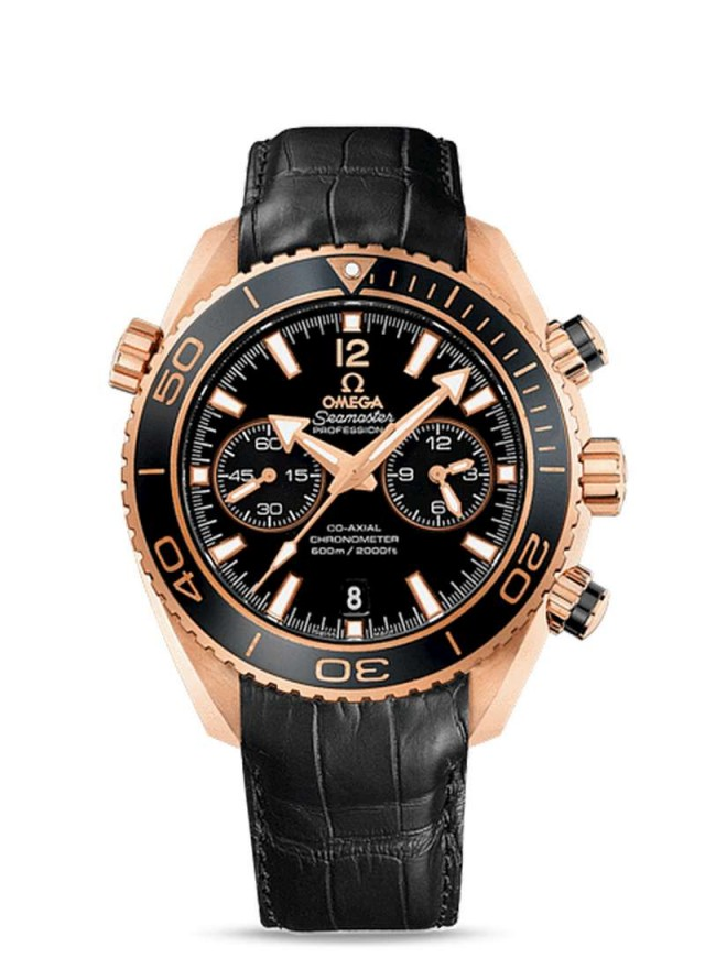 Omega Seamaster Planet Ocean Ceragold Watch 3
