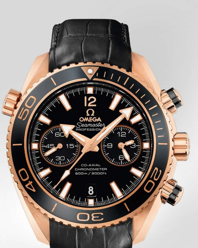 Omega Seamaster Planet Ocean Ceragold Watch (6)